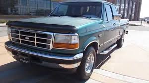 1996 Green Ford F150 Extended Cab Walkaround - YouTube
