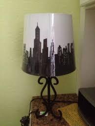 Lamp Shades At Walmart by Mainstays Cityscape Lamp Shade Walmart Com