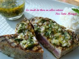 cuisiner thon frais recette du steak de thon en aller retour moelleux à souhait