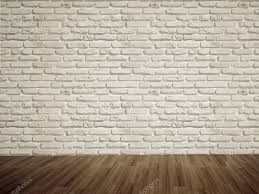 Blank Brick Wall Stock Photo Modern Art Gallery