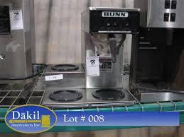 Image 1 BUNN 3 BURNER COFFEE MAKER