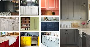 Color Ideas For Painting Kitchen Cabinets 23 Best Kitchen Cabinets Painting Color Ideas And Designs