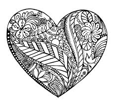 A Heart To Color By 366heartscom