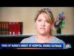 policemen arrests nurse hoax in salt lake city youtube
