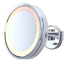 wall mounted makeup mirror canada wall mounted lighted makeup