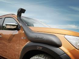 100 Snorkel Truck Tougher Than Ever Nissan Launches Navara OFFROADER AT32 Arctic