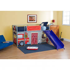 Fire Truck Loft Bed With Slide - Home & Furniture Design ... Boysapos Fire Department Twin Metal Loft Bed With Slide Red For Bedroom Engine Toddler Step 2 Fireman Truck Bunk Beds Tent Best Of In A Bag Walmart Tanner 460026 Rescue Car By Coaster Full Size For Kids Double Deck Sale Paw Patrol Vehicle Play Curtain Pop Up Playhouse Bedbottom Portion Can Be Used As A Bunk Curtains High Sleeper Cabin And Bunks Kent Large Image Monster