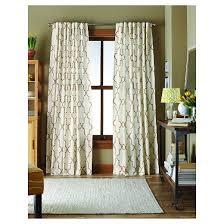 dot lattice curtain panel cream threshold target