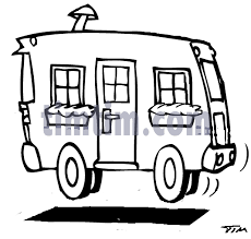Free Drawing Of Camper BW2 From The Category Cars Trucks Buses