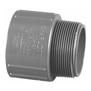 Charlotte Pipe PVC Sch 80 Adapter - 1-1/4 in