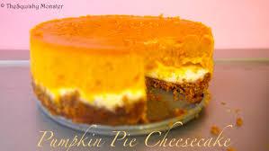 Pumpkin Layer Cheesecake by Pumpkin Pie And Cheesecake Double Decker Recipe Youtube