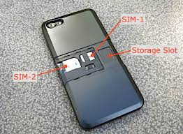 Fund this iPhone 5 case adds second SIM card CNET