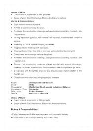Best Project Manager Resume Sample Of It Construction Objective Senior