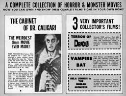 The Cabinet Of Doctor Caligari Online by Monster Mail Orders From Captain Company The Reel Image
