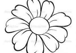 Easy Flowers Drawings Flower