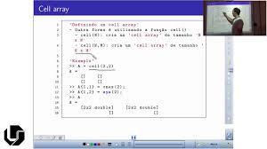 matlab aula 13 trabalhando com cell array youtube