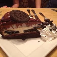 Oreo Cheesecake at Cheesecake Factory