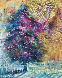 Royal Douglas Fir Artificial Christmas Tree by Leoma Lovegrove U0027s Everyday Art Adventure December 2016