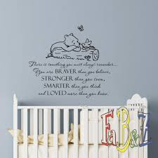 Winnie The Pooh Nursery Decorations by Classic Winnie The Pooh Bear Art Print Baby Shower Black White