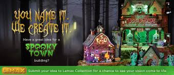 Lemax Halloween Village Displays by Lemax Village Collection Halloween And Christmas Collectibles