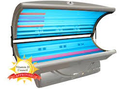 vitality refresh tanning bed 24 bulbs vitamin d tanning uva