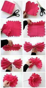 DIY Handmade Paper Napkin Flower