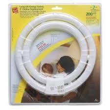 commercial electric 58 watt 200w warm white circline cfl light