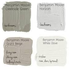 Great Neutral Paint Palette By Benjamin Moore Creekside