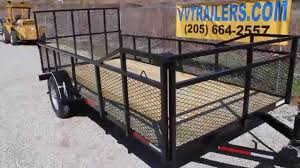 77x14 Landscape Trailer For Sale In Alabama