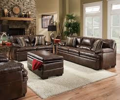 Living Room Ideas Brown Leather Sofa by Furniture Excellent Simmons Upholstery Sofa For Comfortable