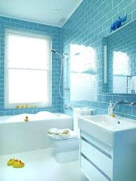 Light Blue Subway Tile by Blue Kids Bathroommodern Family Bathroom By Blue Subway Tile On