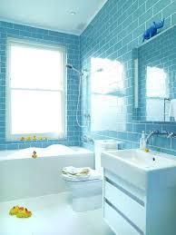 Light Blue Subway Tile by Blue Kids Bathroommodern Family Bathroom By Blue Subway Tile On
