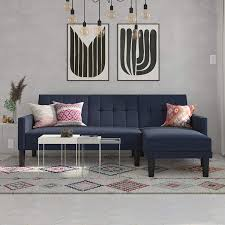 DHP Haven Small Space Sectional Futon Sofa, Blue Linen Sectional 5seat Corner Kivik Orrsta With Chaise Light Gray Grey Recling Sectional From Michaels House Ideas Leighton 3pc Sofa Living Room Ideas In 2019 Atlanta Transitional Chaise By Klaussner At Fniture Mart Colorado Cheap Sofas Under 500 For Buy Sectionals For Sale Jordans Stores Ma Red Bluff Store Depot Tehama Modern Contemporary Low Back Allmodern Small With Lounge Design Idea And Irving Floor Chair Memory Foam Adjustable Gaming Contemporary Sleeper Sofa