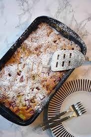 einfacher rhabarberkuchen vom blech