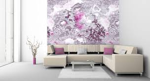 tapeten rosa und pink modernes design mowade