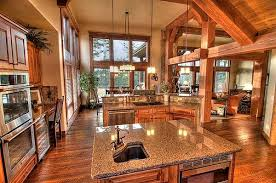 Surprising Idea Rustic Kitchen House Plans 14 Home With Open Floor Wiring Scott Design On