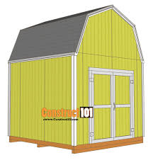 Gambrel Shed Plans 16x20 by Free Shed Plans With Drawings Material List Free Pdf Download