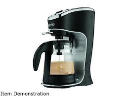 MR COFFEE BVMC EL1 Black Cafe Latte Maker
