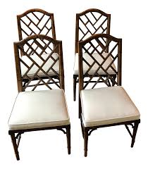 Century Furniture Chinese Chippendale Faux Bamboo Dining Chairs ... Faux Bamboo Chinese Chippendale Side Ding Chairs By Century Set Of Excellent Ideas Livingroom Outstanding Real Time Progress Dorsey Designs Style Metal Chair Patio Amazoncom Kathy Kuo Home Hollywood Regency Black 1960s Vintage Rosewood Lacquered White Musicatono Drawing Chairs Picture 901112 Drawing For Sale At