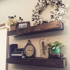 best 25 wooden floating shelves ideas on pinterest wood