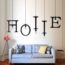 shop la miu new nordic iron letter pendant light diy