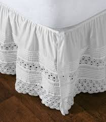 crocheted bed skirts foter