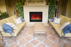 Outdoor Electric Fireplace Designs