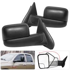 100 Side View Mirrors For Trucks Amazoncom Dodge Ram 1500 2500 Extendable Power