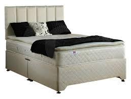 Amazon Super King Headboard by Luxury Best Sleep Pillow Top 28cm Deep Mattress And Quilted Divan