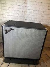 Fender Bassman Cabinet 1x15 by Fender Speaker Cabinet Ebay