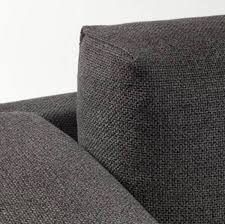 ikea nockeby corner couch sofa with chaise kivik footstool