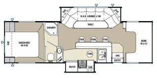 Class C Motorhome With Bunk Beds by Rv Floor Plans With Bunk Beds Gallery Of Rv Bunk Bed Plans Ba