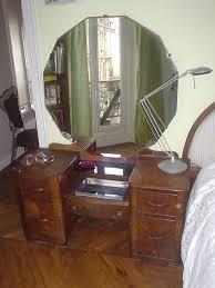 Vintage Vanity Dresser Set by Incredible Design Ideas Using Rectangular White Wooden Dressers