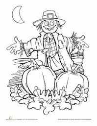 Pumpkin Patch Coloring Pages by Icolor